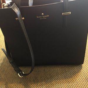 NWOT Kate Spade Black Leather Shoulderbag
